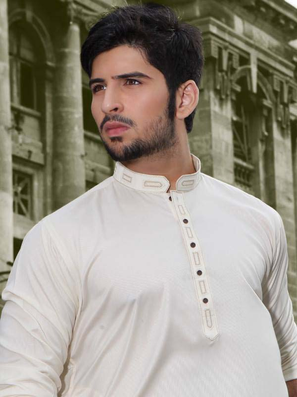 Latest Summer Men Kurta Shalwar Designs Collection 2016-2017 (6)