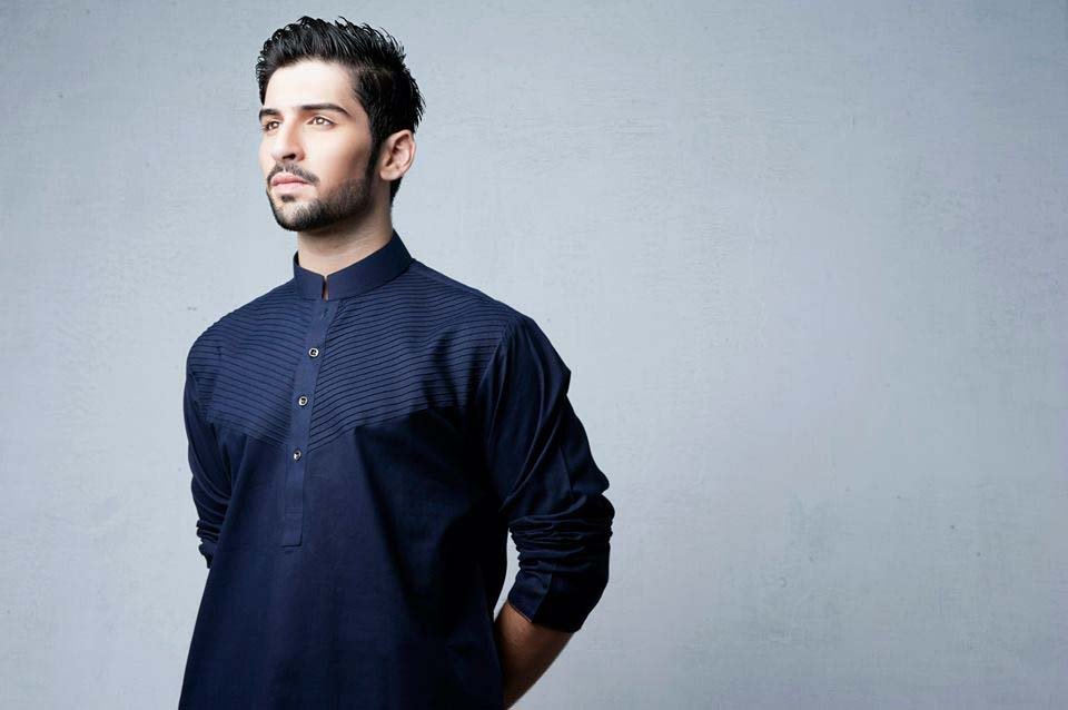 Latest Summer Men Kurta Shalwar Designs Collection 2016-2017 (7)