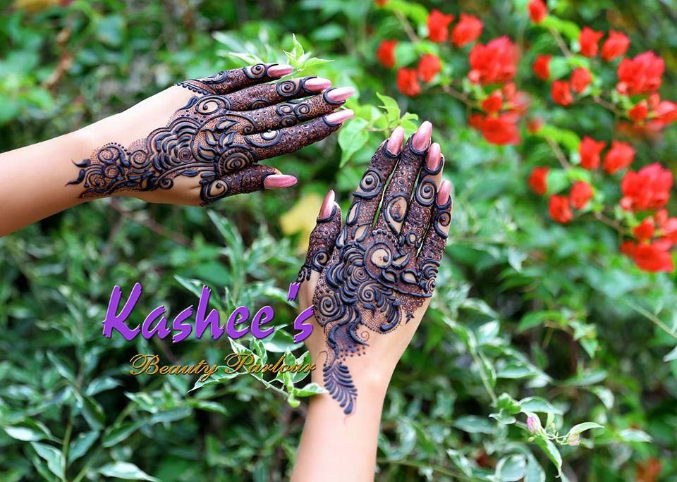 Mehndi Designs For S : Kashee s beautiful mehndi designs for girls stylo planet