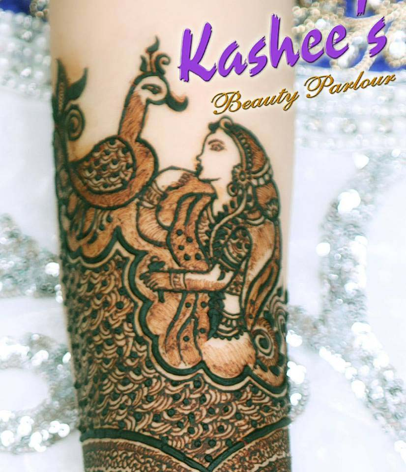 Lovely Kashee's Mehndi Designs For Girls 2018-2019