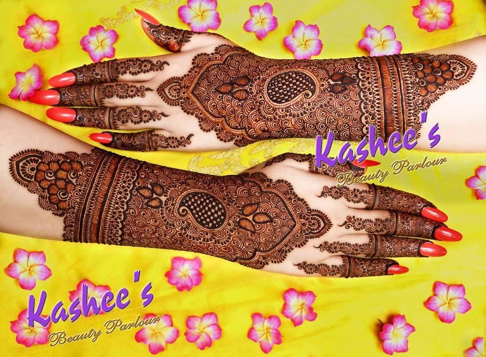 Kashee S Bridal Mehndi Designs : Kashee s beautiful mehndi designs for girls stylo planet