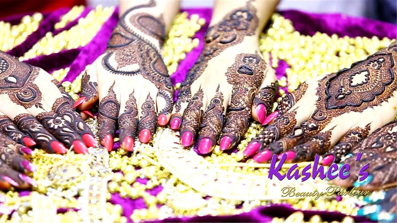 Kashee Simple Mehndi Design Makedes Com