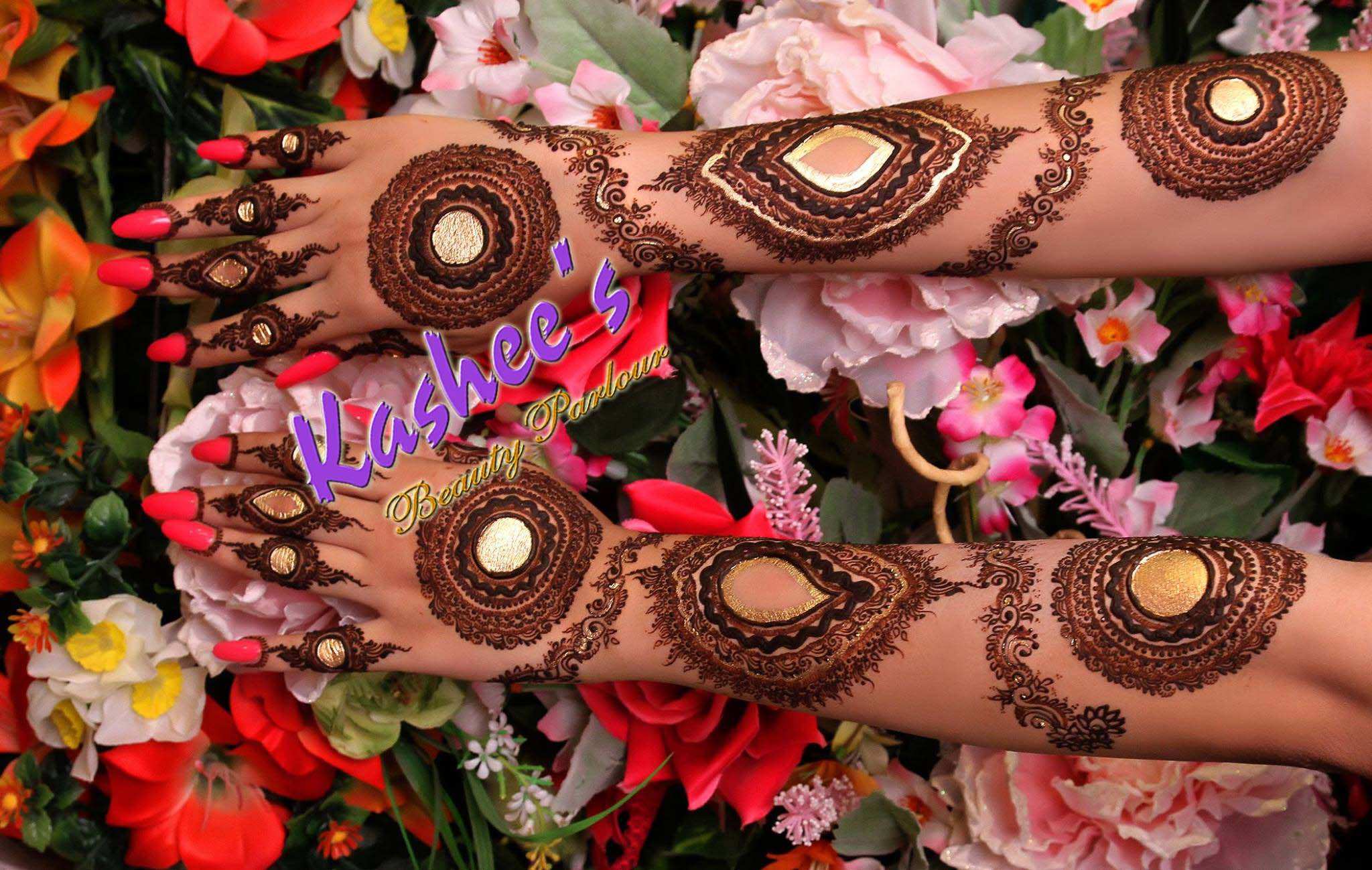 how to make the red of henna look browner