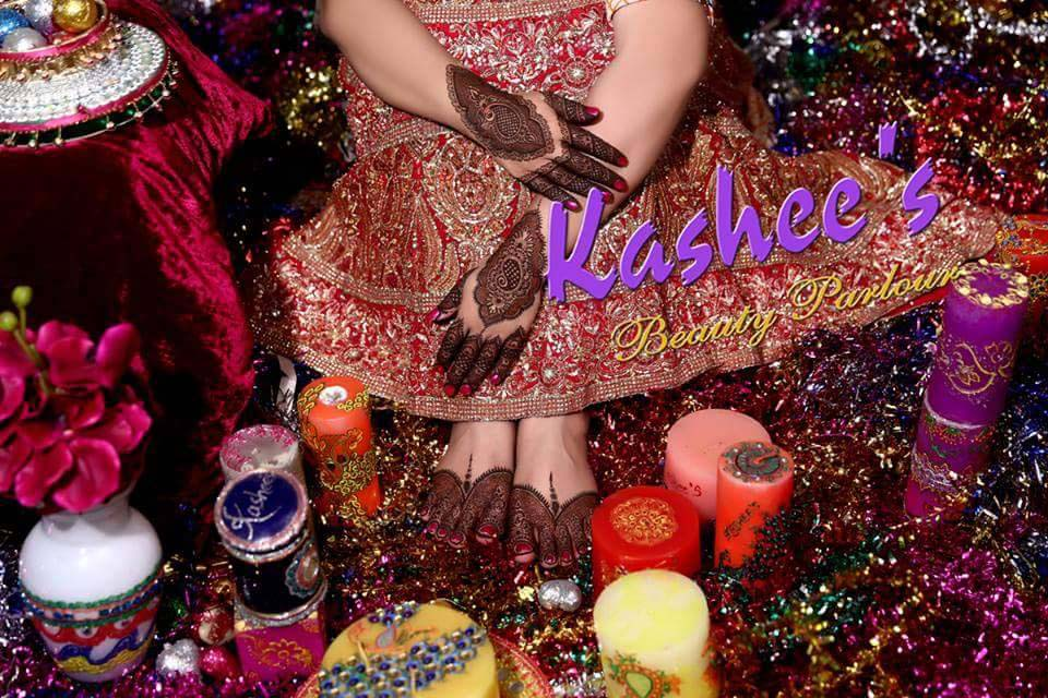 Lovely Kashee's Mehndi Designs For Girls 2016-2017 (5)