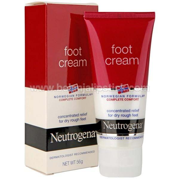 Neutrogena Foot Cream For Dry Heels