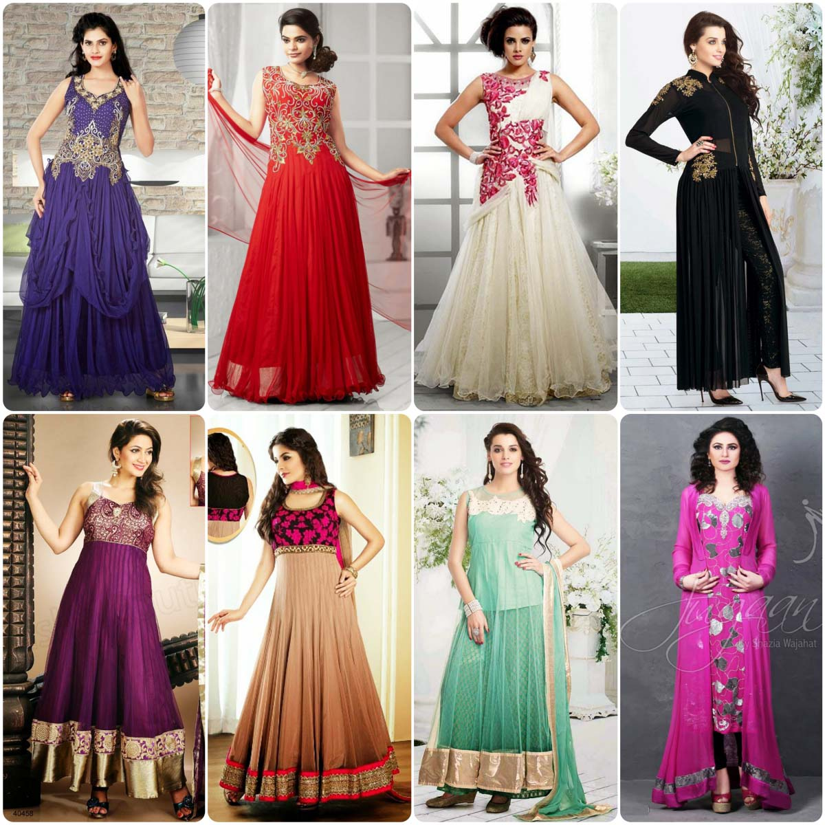 Indian & Paksistani Party Wear Dresses 2016 | Stylo Planet
