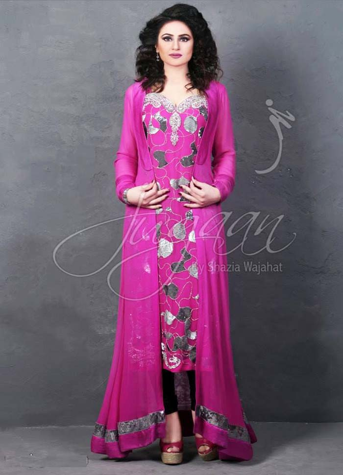 Pakistani Party Dress Images 2017 115