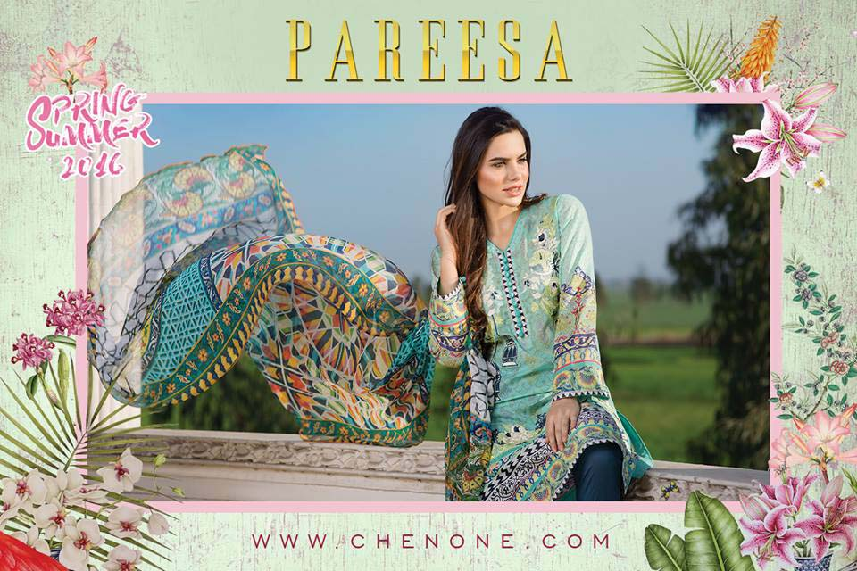 Pareesa kurtis collection