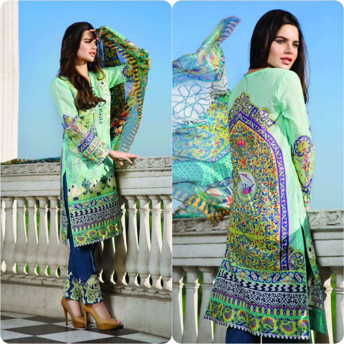 Pareesa By Chen One Spring Summer Lawn Collection 2016-2017 (9)