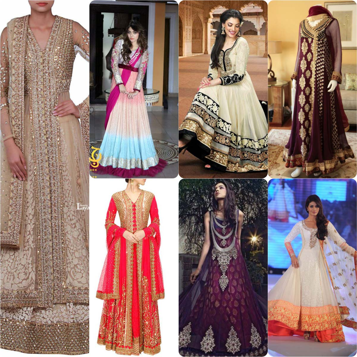 91b6d3b2c Latest Fancy   Embroidered Frocks Collection