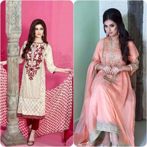ShaPosh Embroidered Casual and Formal Dresses Collection 2016-2017 (14)