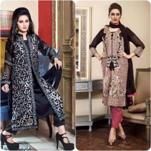ShaPosh Embroidered Casual and Formal Dresses Collection 2016-2017 (23)