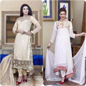 ShaPosh Embroidered Casual and Formal Dresses Collection 2016-2017 (25)