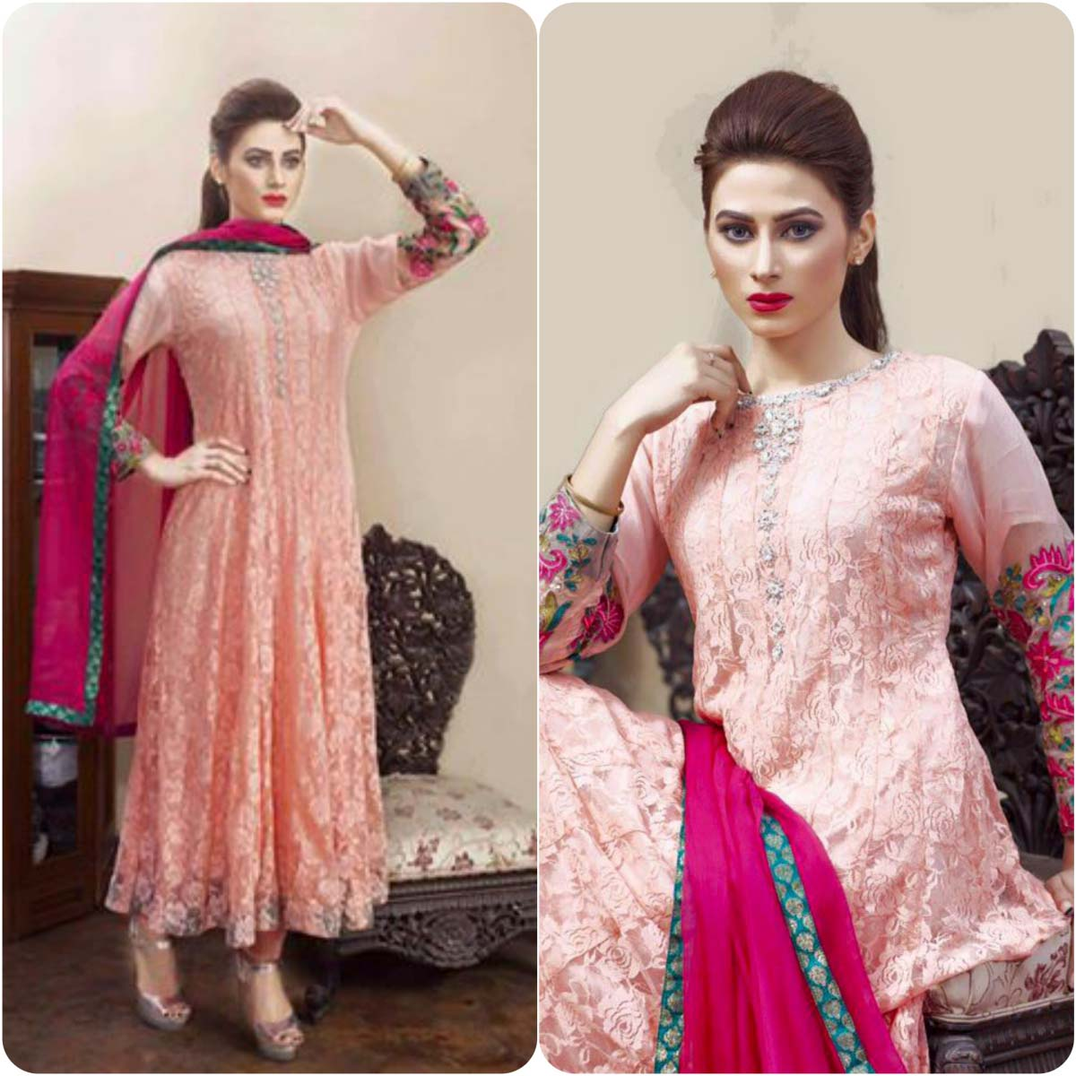 ShaPosh Embroidered Casual and Formal Dresses Collection 2016-2017 (5)