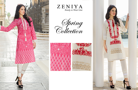 Zeniya Lawn Summer Collection 2016 For Women by Deepak Perwani (2)