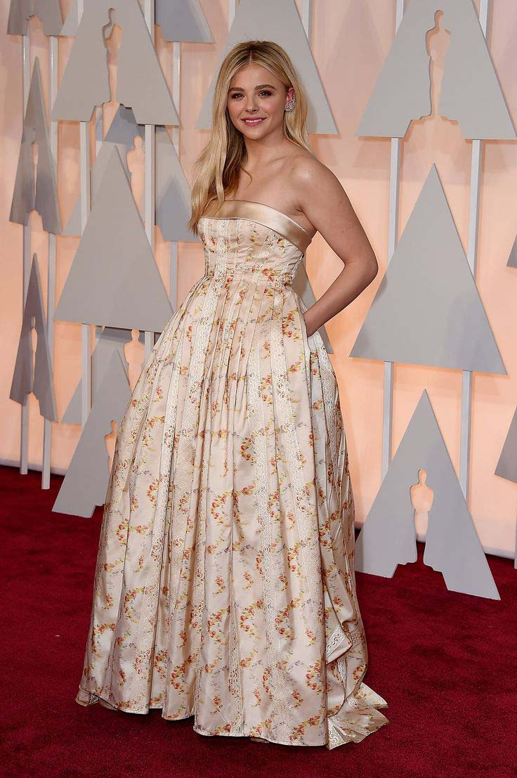 Chloe Grace Moretz In Miu Miu & Forever Diamonds