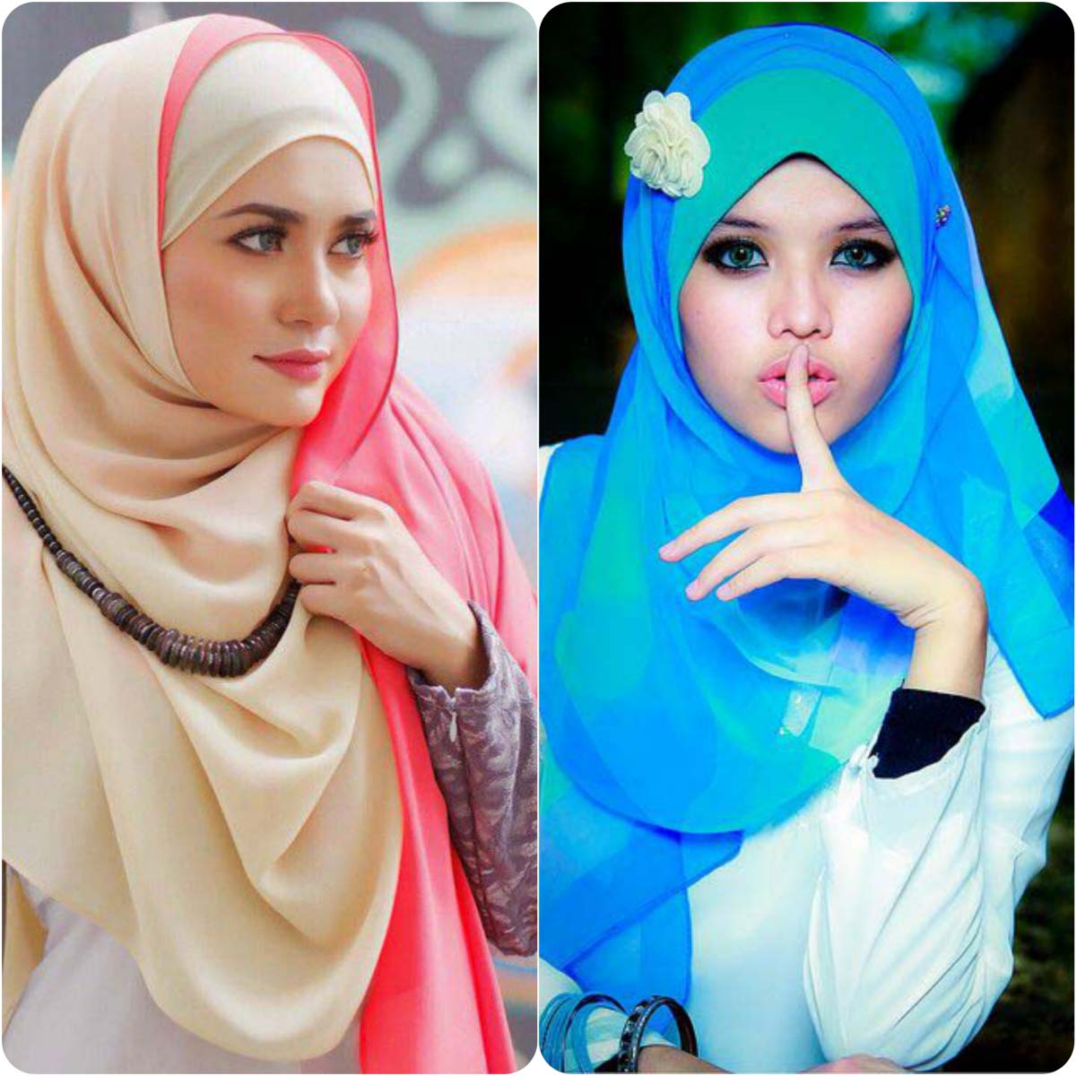 Latest Hijab Styles & Designs for Summer Fashion 2016-2017 (2)