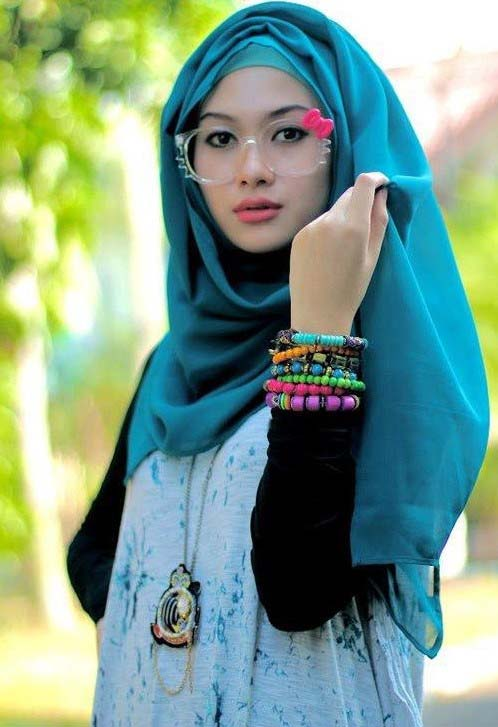 Latest Hijab Styles & Designs for Summer Fashion 2016-2017 (22)