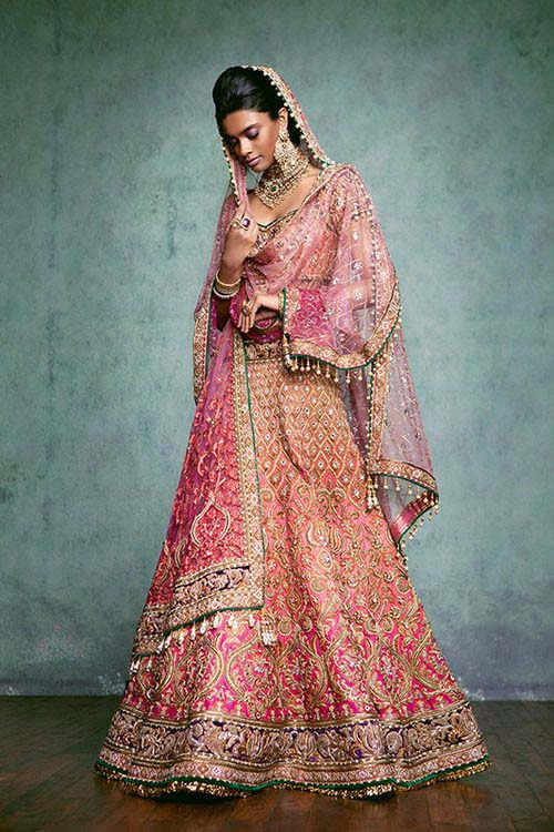 Latest Indian Designers Barat Dresses for Wedding Brides 2016-2017 (14)
