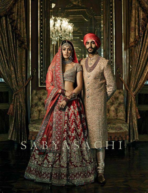 Indian bridals collection by SABYASACHI