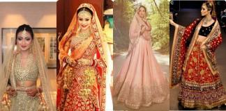 LatesT Indian bridal dresses trneds