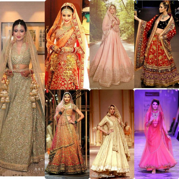 LatesT Indian bridal dresses trneds