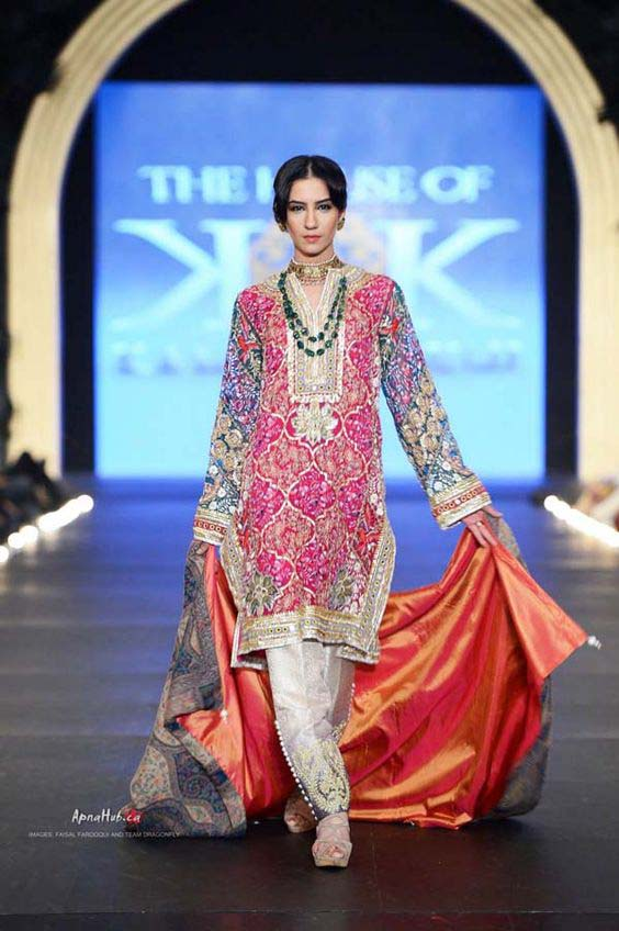 Latest Indian Designers Barat Dresses for Wedding Brides 2016-2017 (41)