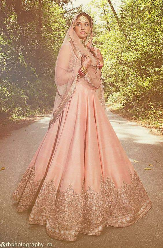 Latest Indian Designers Barat Dresses for Wedding Brides 2016-2017 (42)