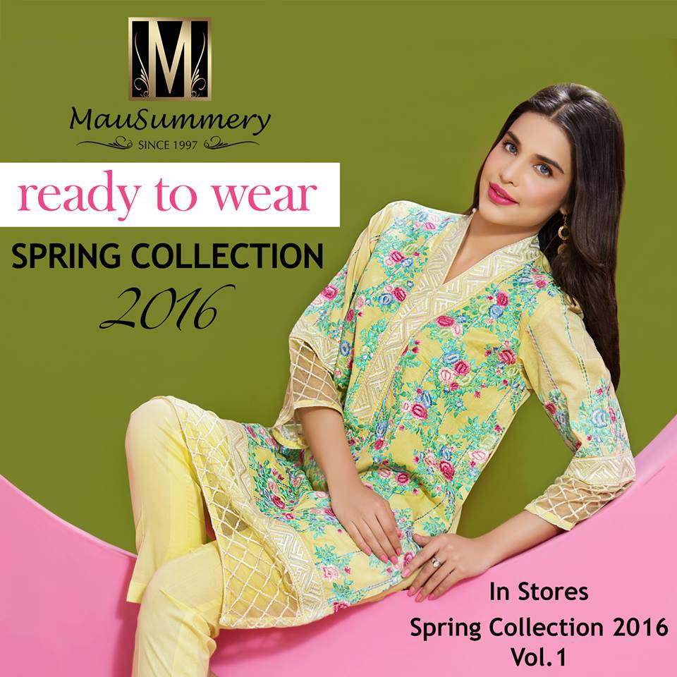 Mausummery Spring/Summer Lawn Collection with Price Complete Catalog