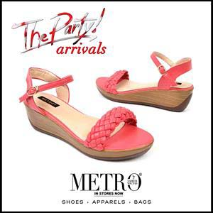 metro summer wedges collection for women 2016