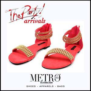 Metro Shoes Stylish Summer Footwear, Clutches and Bags Collection 2016-2017 (5)