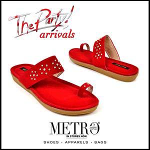 Metro Shoes Stylish Summer Footwear, Clutches and Bags Collection 2016-2017 (7)