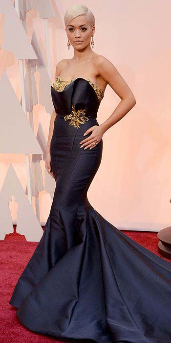 Rita Ora Wearing Marchesa (2)