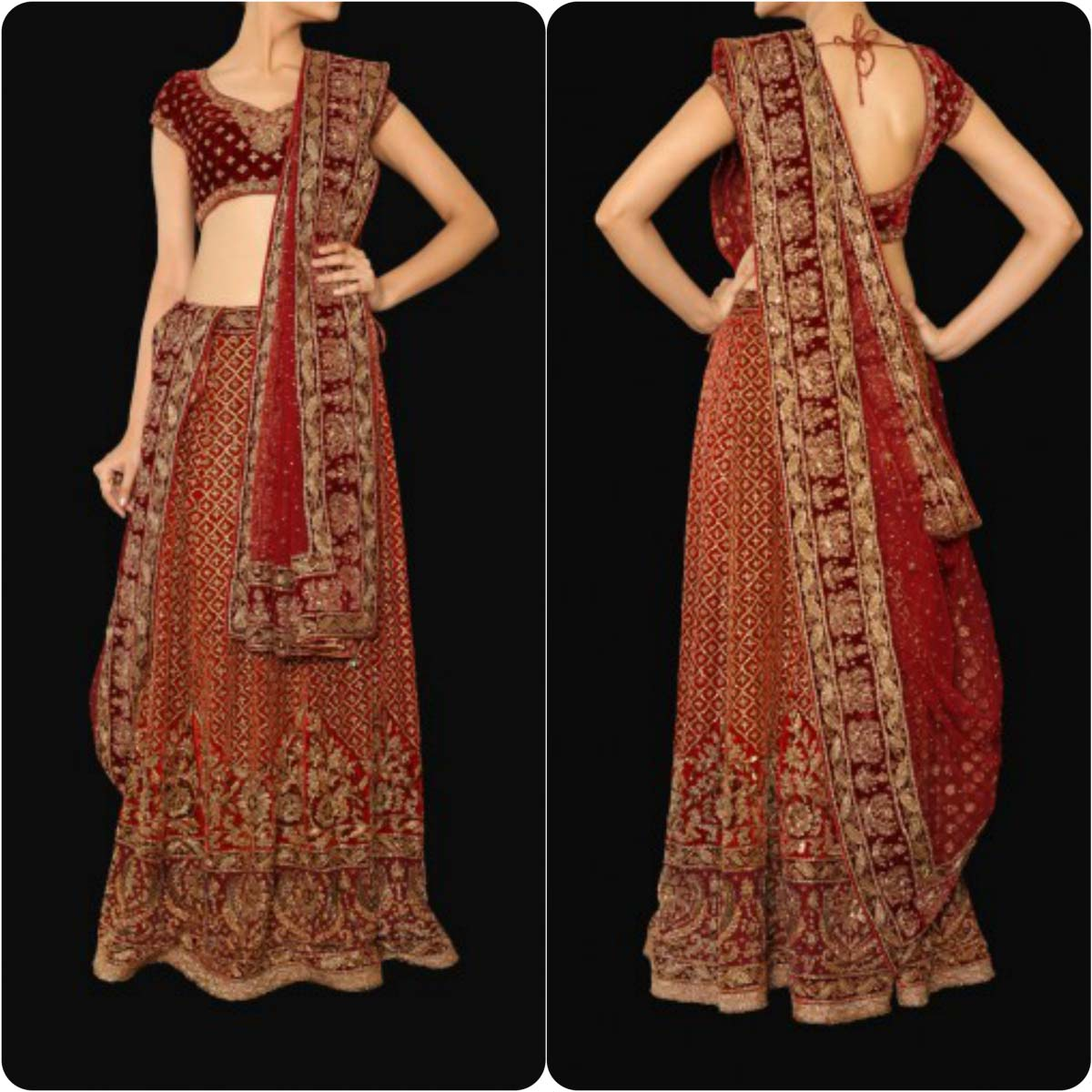 Best Indian Bridal Dresses 2017 - High Cut Wedding Dresses