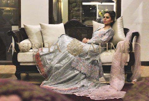 Ayesha Ahmed Bridal wear Dresses Collection 2016-2017