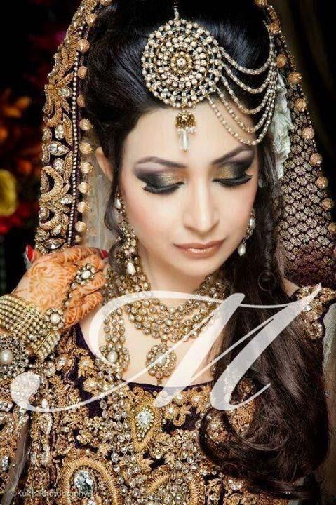 Pakistani Best Bridal Makeup Tutorial- Step by Step (15)