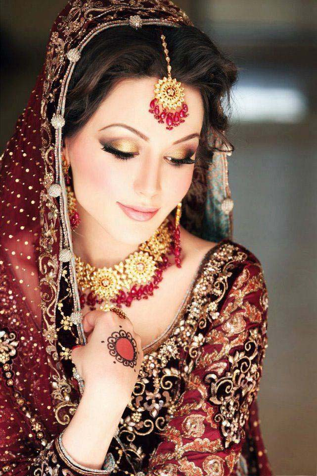 Pakistani Best Bridal Makeup Tutorial- Step by Step (21)