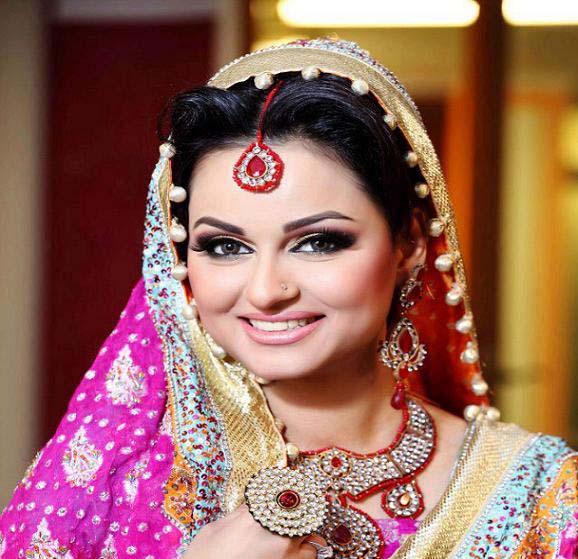 Pakistani Best Bridal Makeup Tutorial- Step by Step (31)