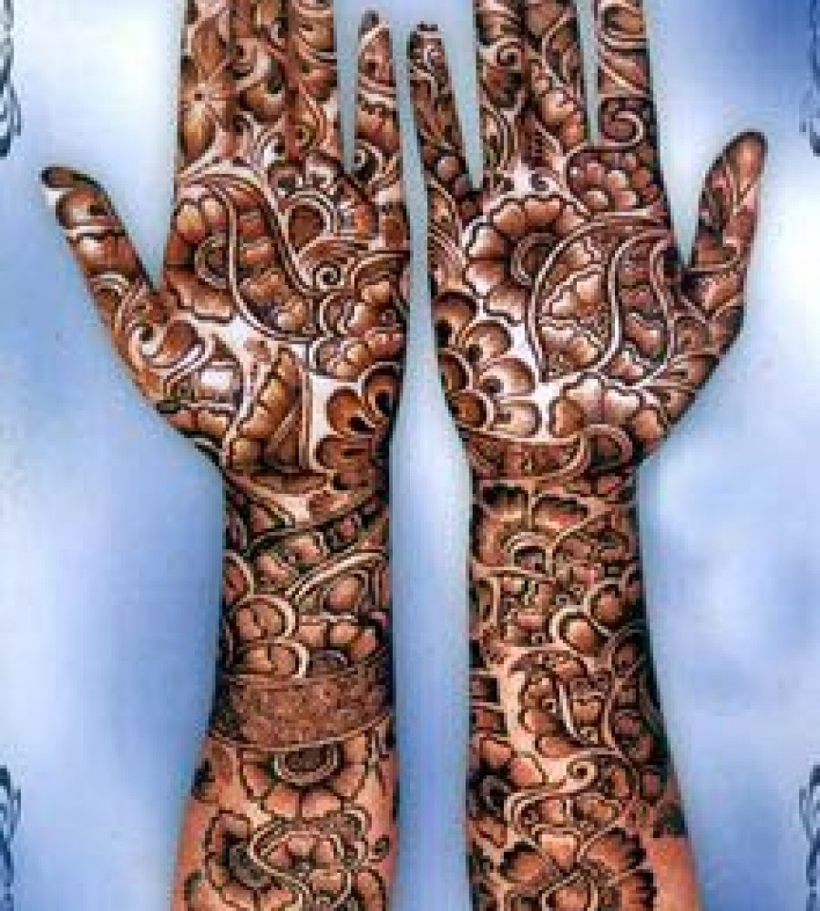 Shaded Mehndi Designs For Girls 2016-2107 (21)