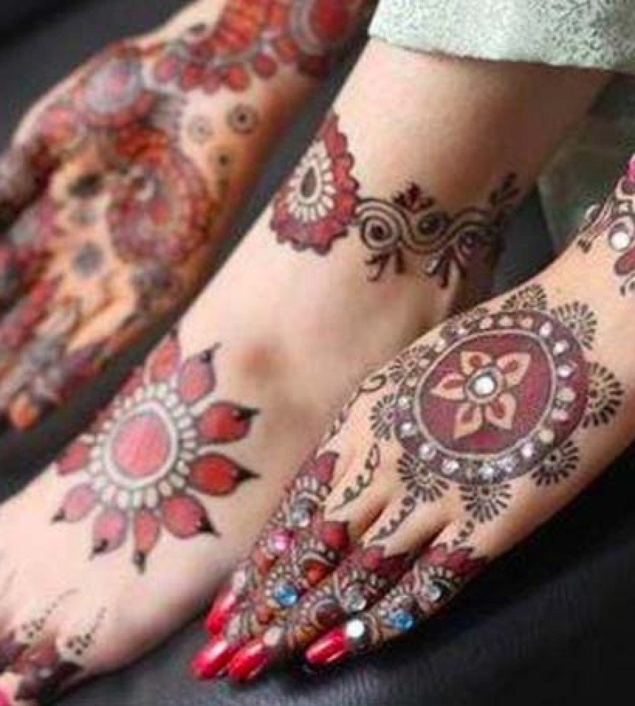 Shaded Mehndi Designs For Girls 2016-2107 (30)