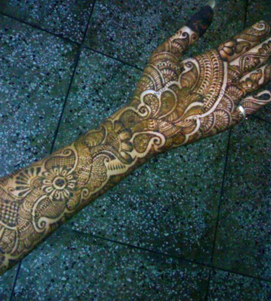 Shaded Mehndi Designs For Girls 2016-2107 (33)