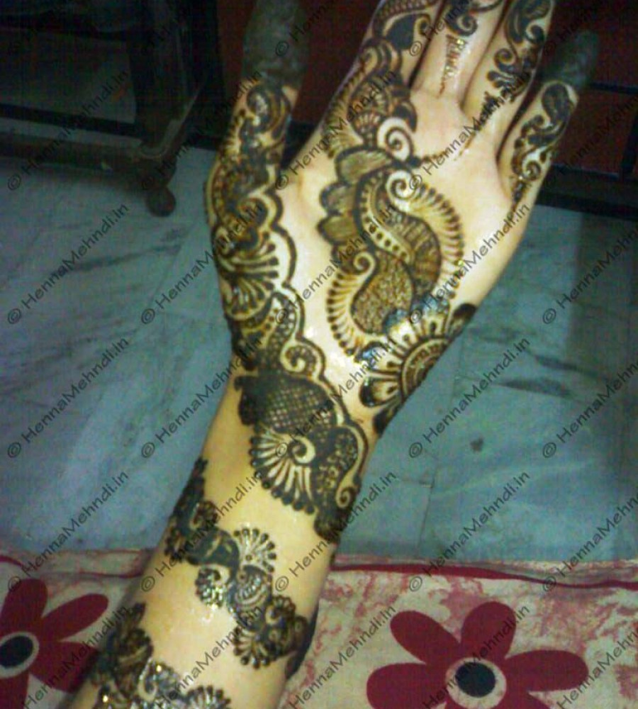 Shaded Mehndi Designs For Girls 2016-2107 (35)