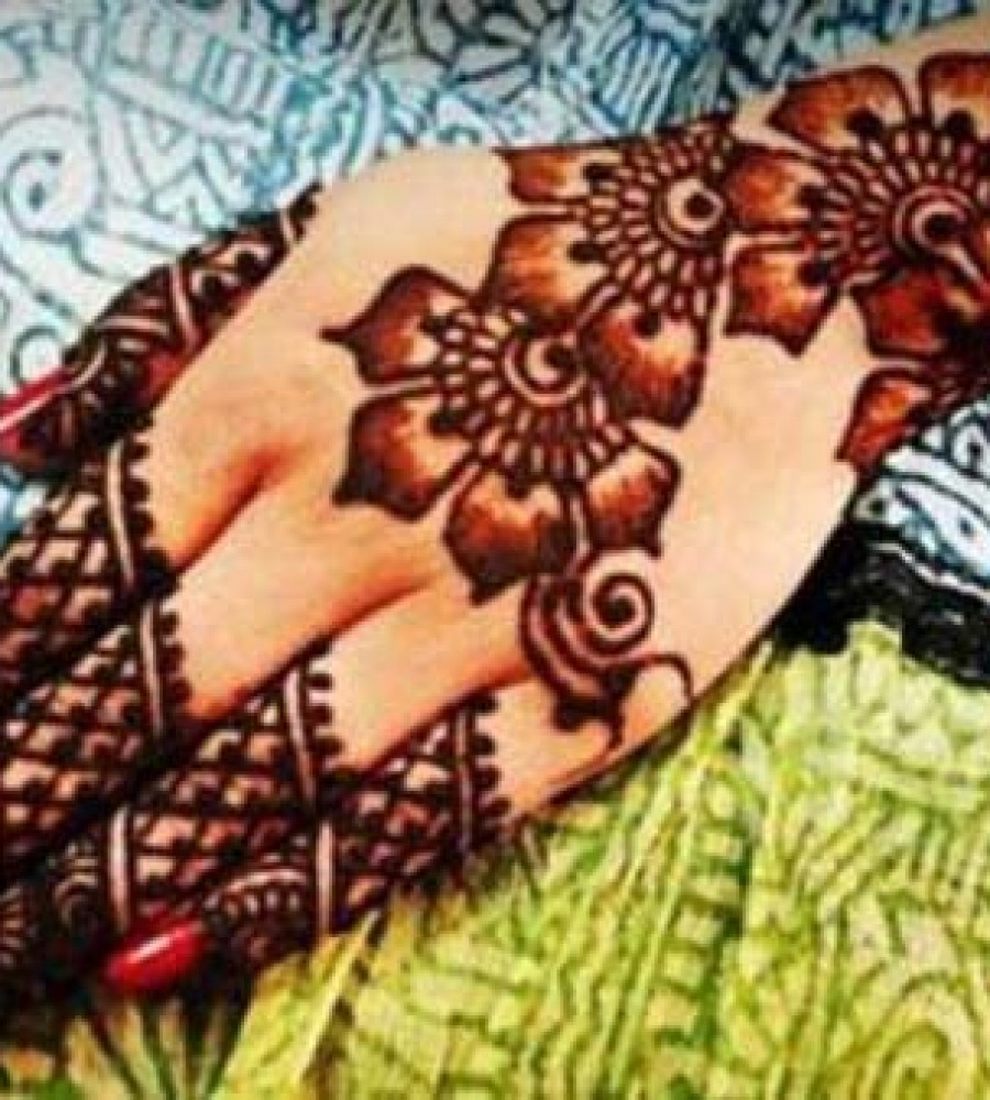 Shaded Mehndi Designs For Girls 2016-2107 (38)
