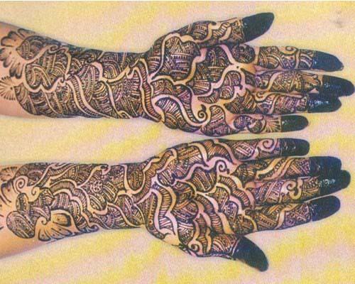 Latest Shaded Henna Mehndi : Latest shaded henna designs for girls stylo planet