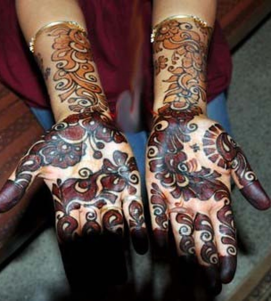 Shaded Mehndi Designs For Girls 2016-2107 (40)