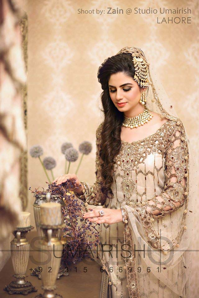 Stylish Walima Dresses For Wedding Pakistani Brides 2016-2017 (17)