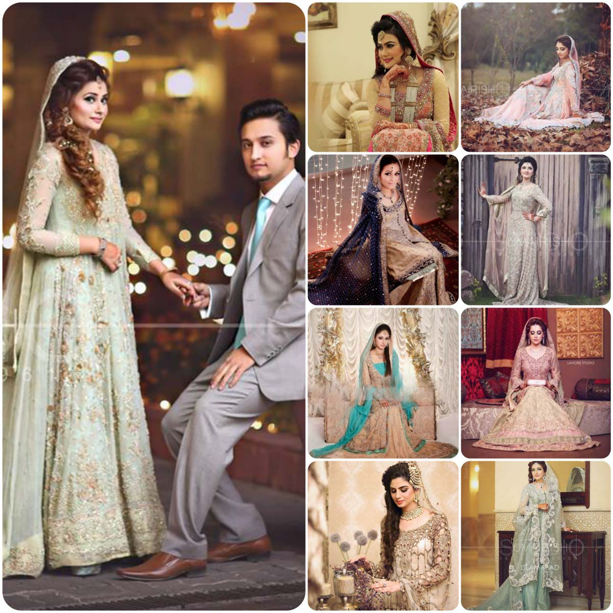 Walima Dresses For Wedding Brides 2016-2017 | Stylo Planet
