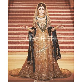 Stylish Walima Dresses For Wedding Pakistani Brides 2016-2017 (22)