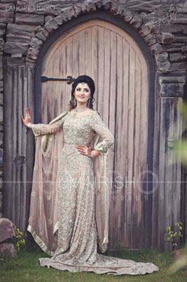 Stylish Walima Dresses For Wedding Pakistani Brides 2016-2017 (31)
