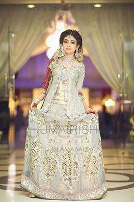 Stylish Walima Dresses For Wedding Pakistani Brides 2016-2017 (5)